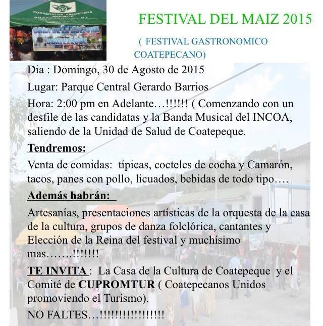 festival del maiz coatepeque