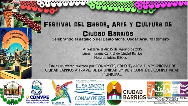 festival sabor arte y cultura ciudad barrios