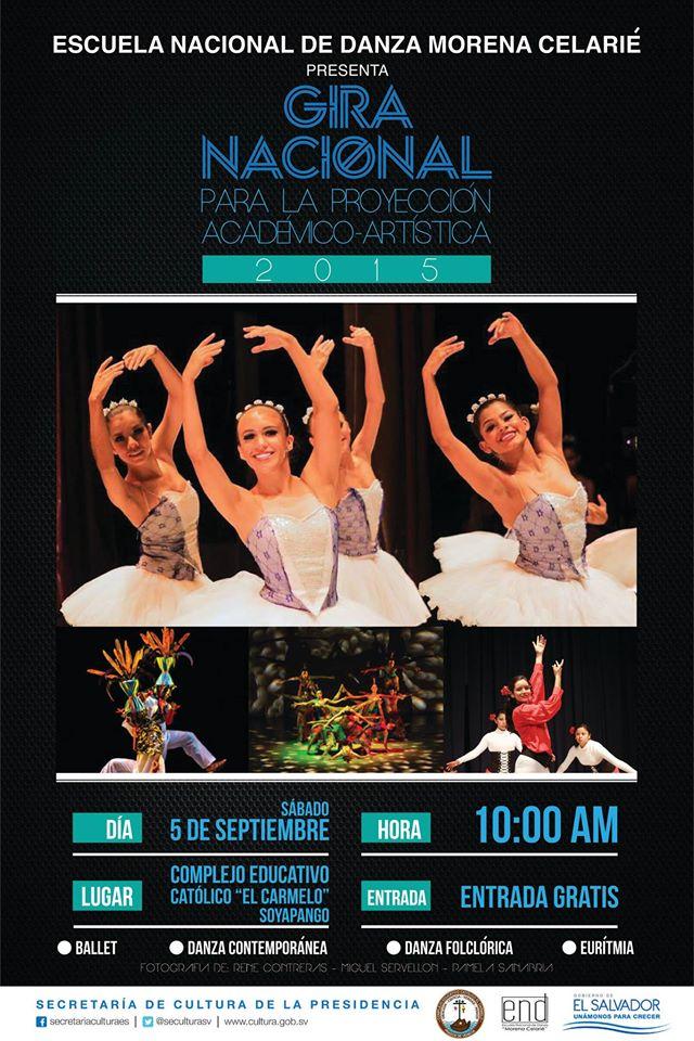 gira nacional de danza