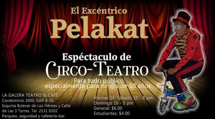 pelakat circo teatro