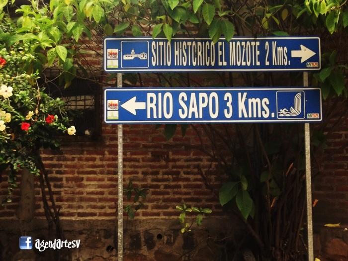 Ruta de La Paz, El Mozote, Rio Sapo en Arambala, Morazan, El Salvador