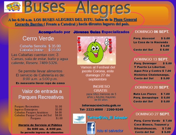 buses alegres septiembre