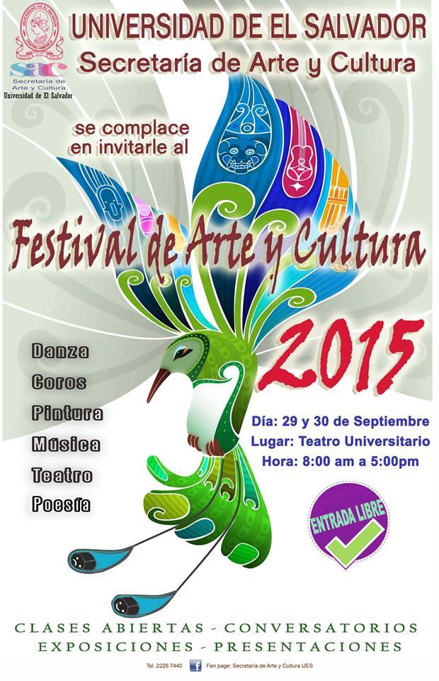 festival de arte y cultura ues 1