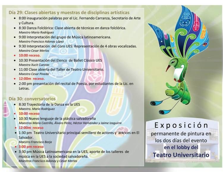festival de arte y cultura ues 3