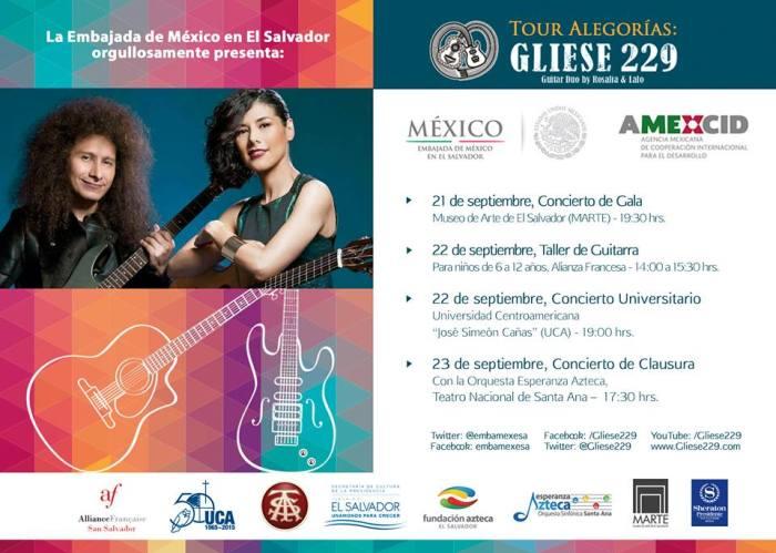 Gliese 229 en El Salvador