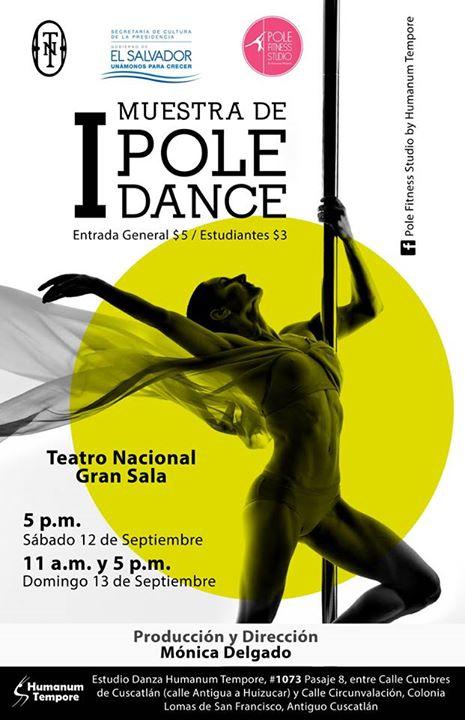 muestra de pole dance