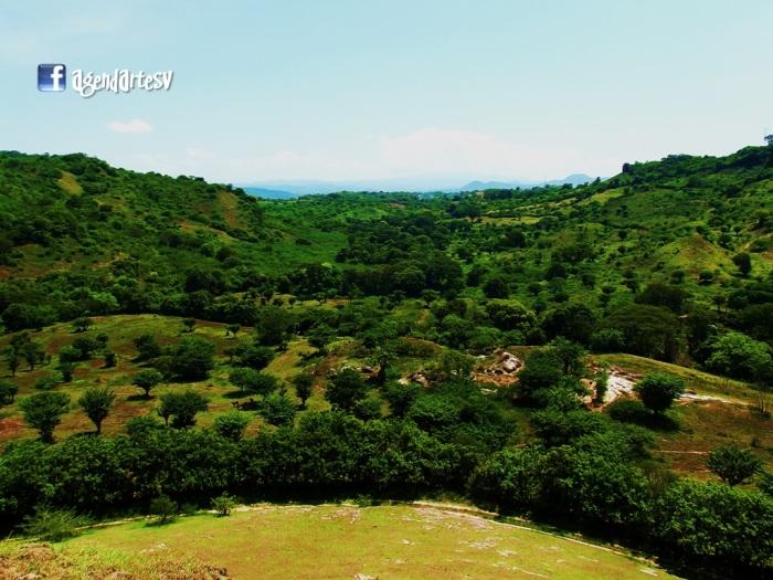 Panoramica desde el Cerro Mariancolo, Estanzuelas, Usulutan, El Salvador