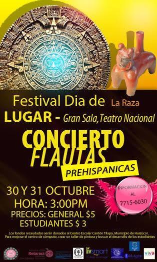 concierto flautas prehispanicas