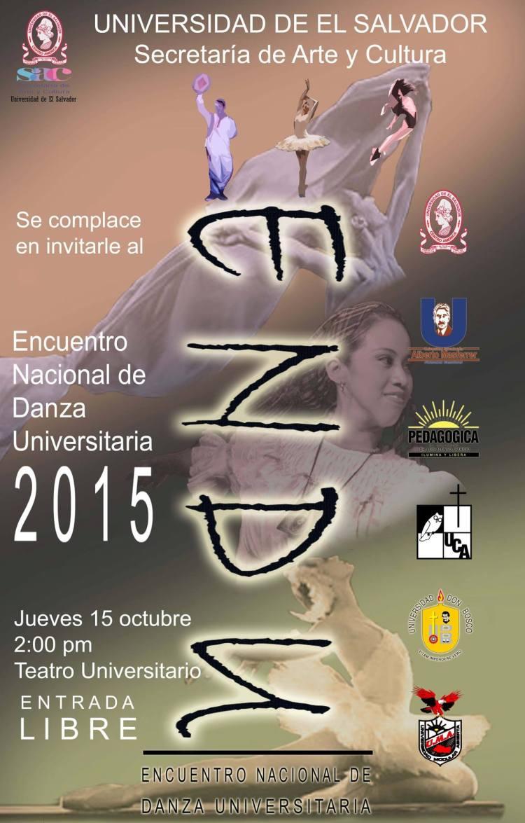 encuentro nacional de danza universitaria