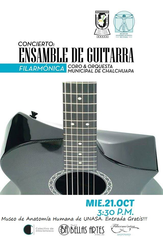 ensamble de guitarra