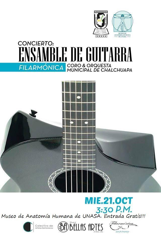 ensamble de guitarra