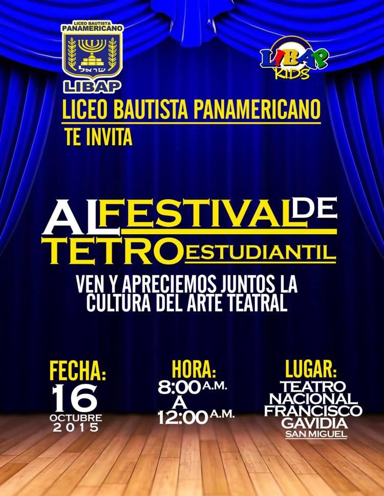 festival de teatro estudiantil