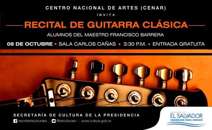 recital guitarra clasica