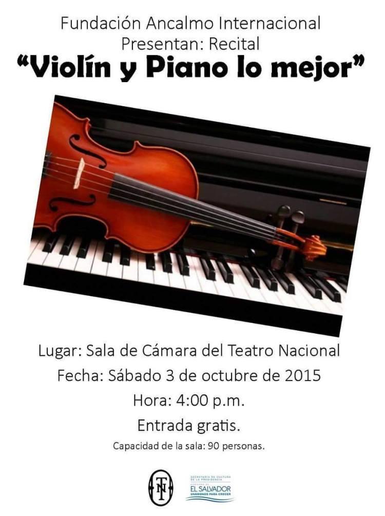 violin y piano