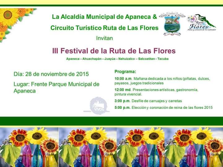 festival ruta de las flores