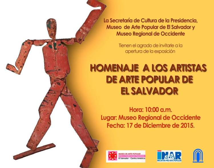 Homenaje a los Artistas Populares de El Salvador