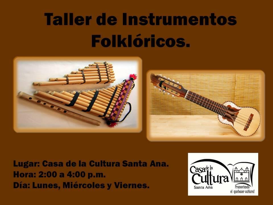 taller instrumentos folkloricos