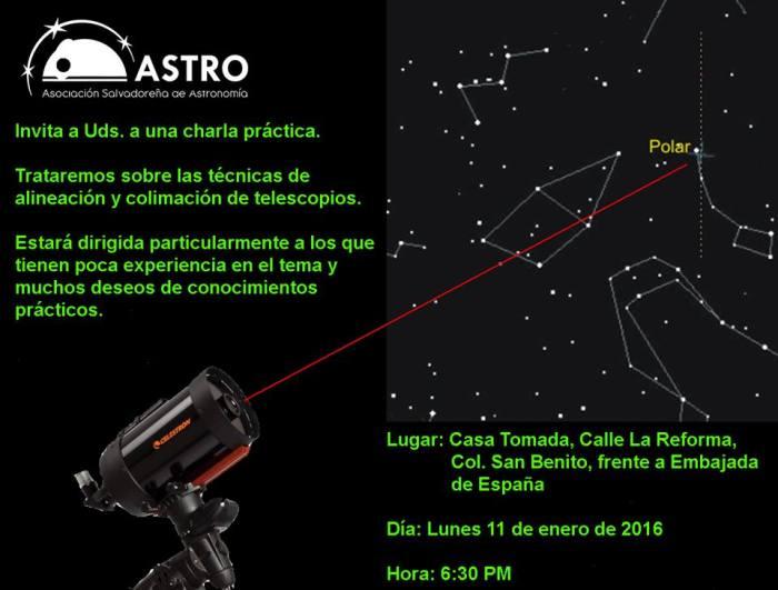 alineacion de telescopios
