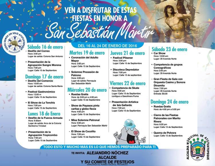 Fiestas de Ayutuxtepeque 2016