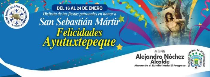 Fiestas Patronales de Ayutuxtepeque 2016