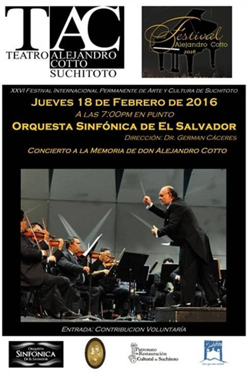 Concierto a la memoria de Don Alejandro Cotto