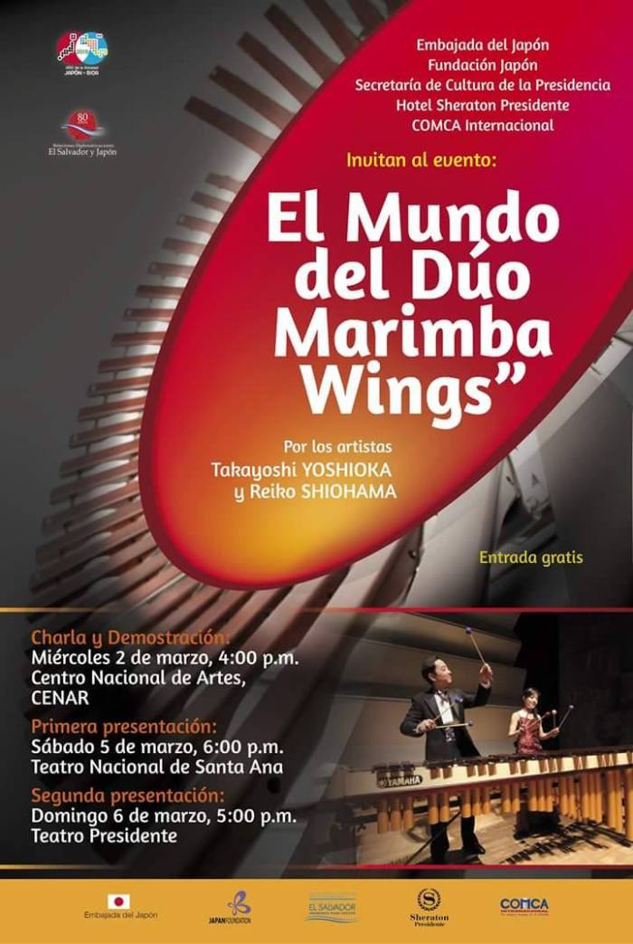 duo marimba wings