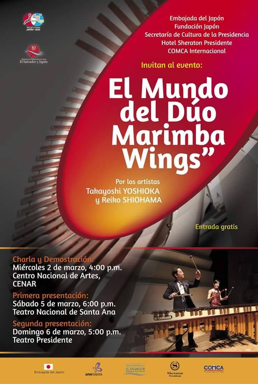 duo marimba wings