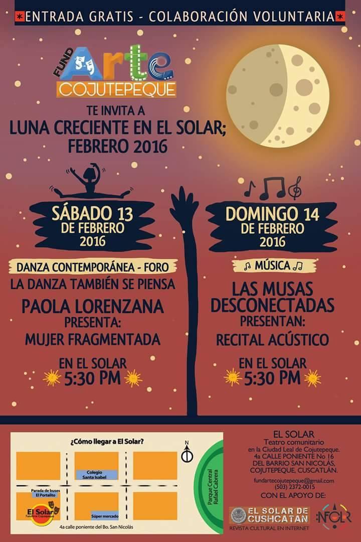 luna creciente en el solar