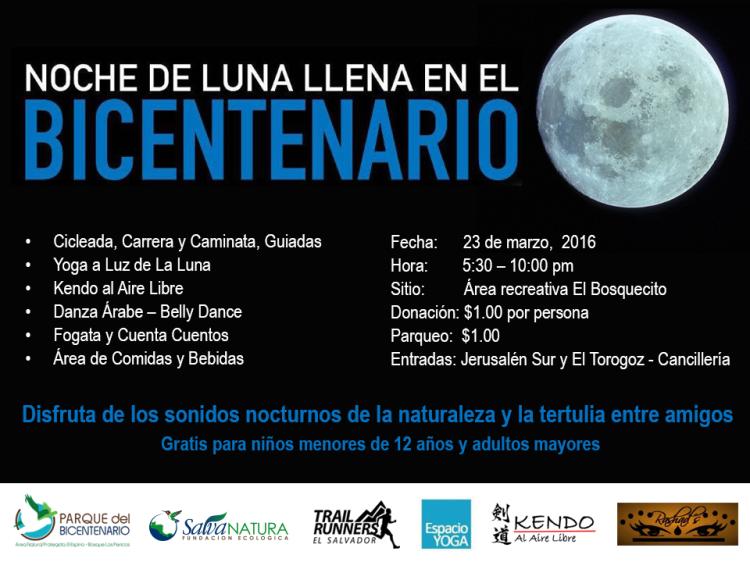 Noche de Luna Llena en El Bicentenario