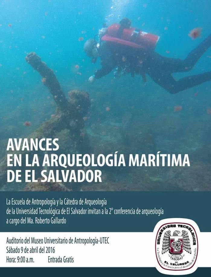 Avances en la arqueología subacuática de El Salvador