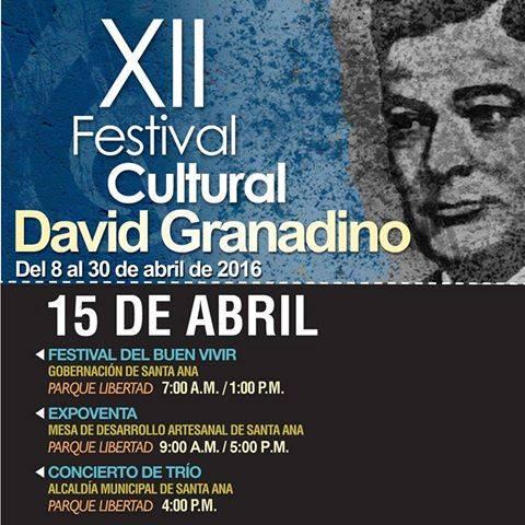 XII Festival Cultural David Granadino
