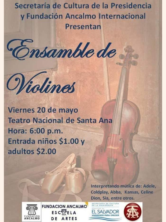 ensamble de violines