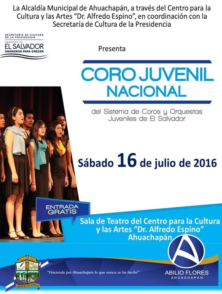 coro juvenil nacional