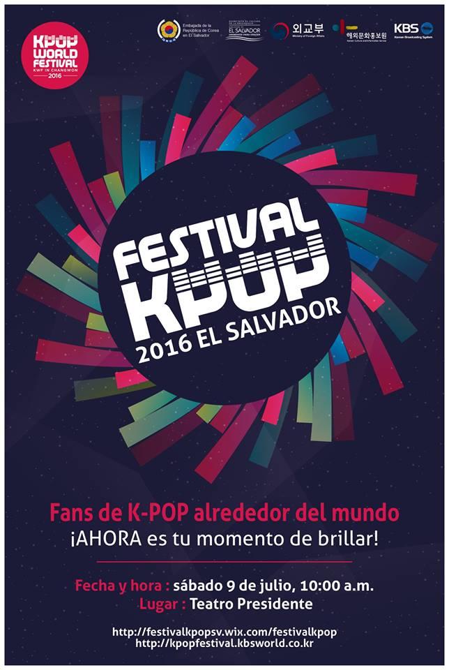 festival kpop el salvador