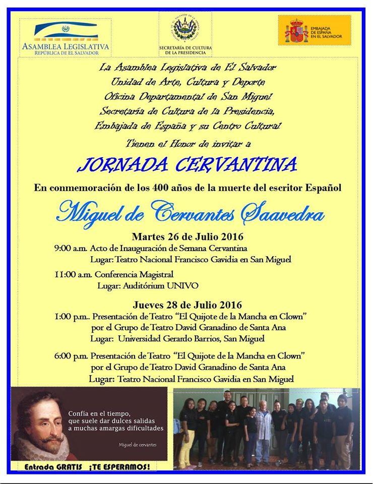 Jornada Cervantina 1