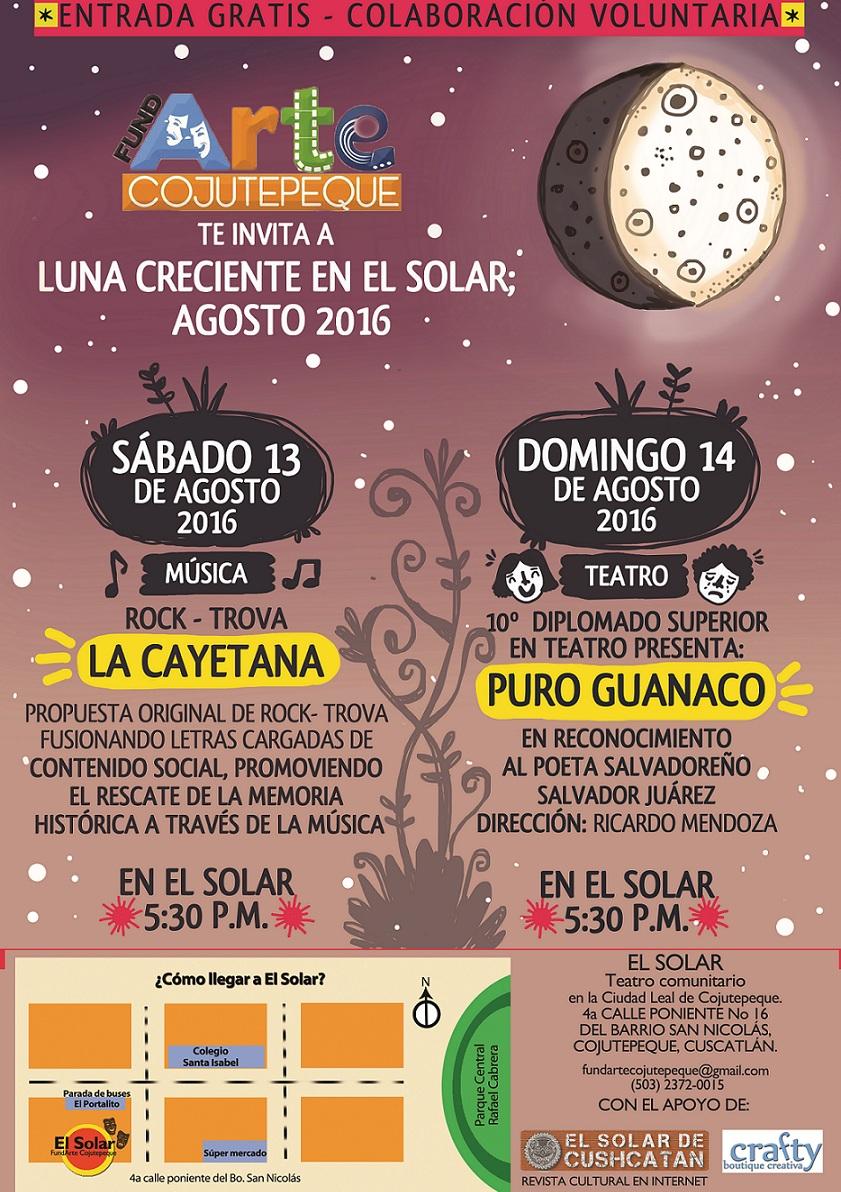 afiche 13 y 14 agosto 2016 + logo