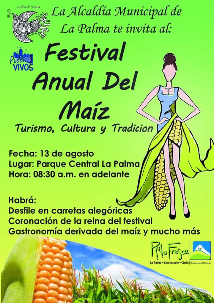 festival del maiz la palma