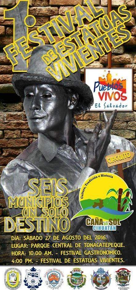 festival estatuas vivientes
