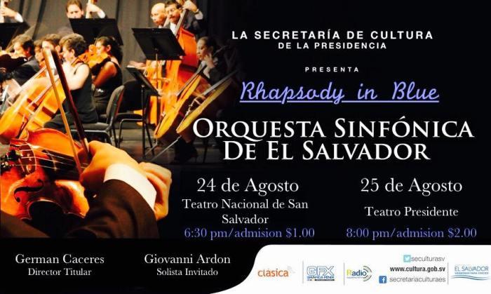 orquesta sinfonica el salvador