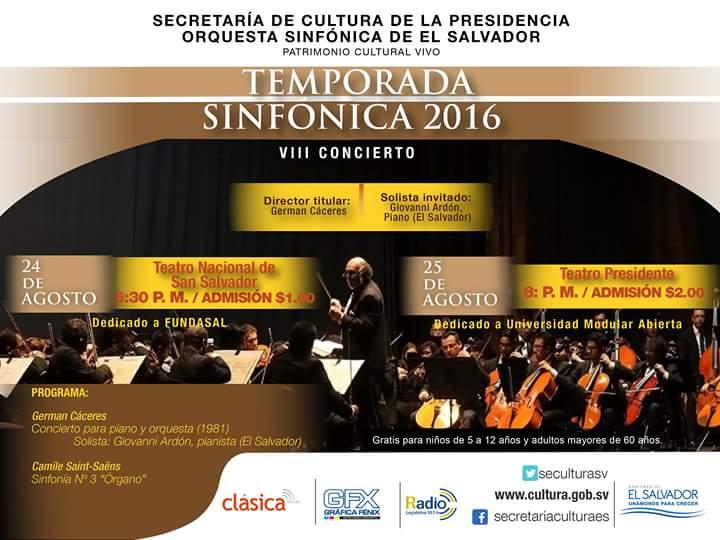 temporada sinfonica 2016