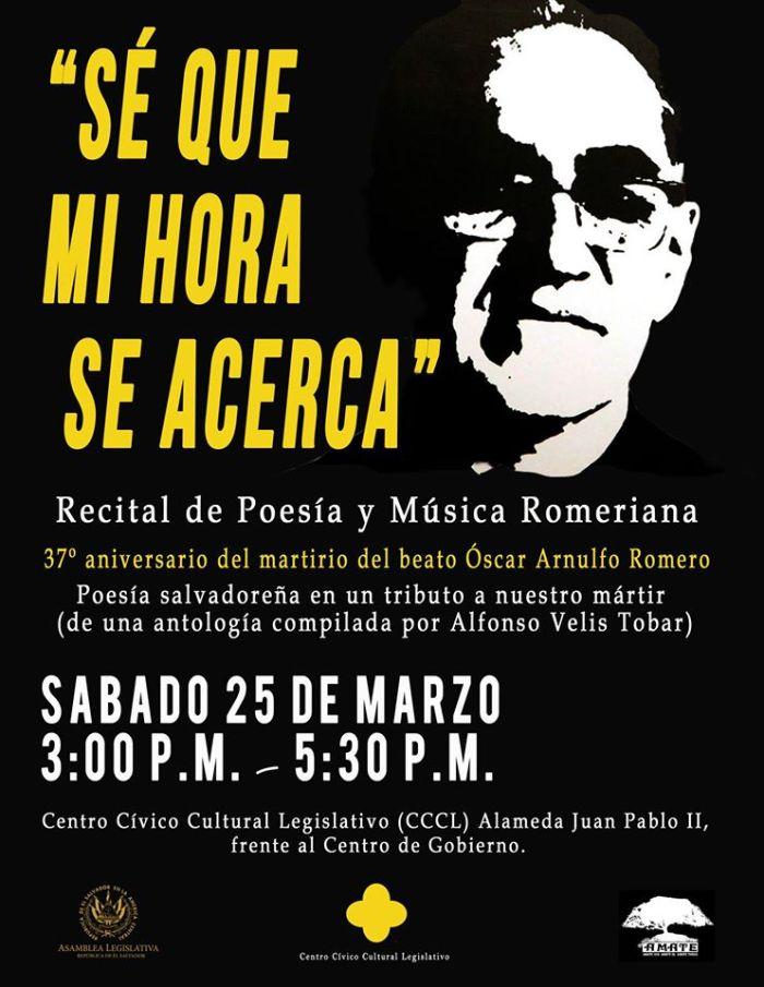 aniversario del martirio del beato Oscar Arnulfo Romero