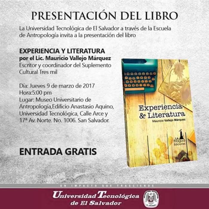experiencia y literatura