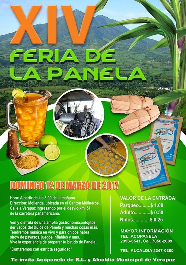 Feria de la Panela en Verapaz San Vicente