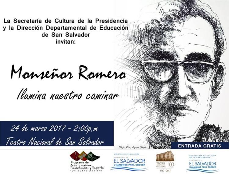 Peña artística Monseñor Romero ilumina nuestro camino