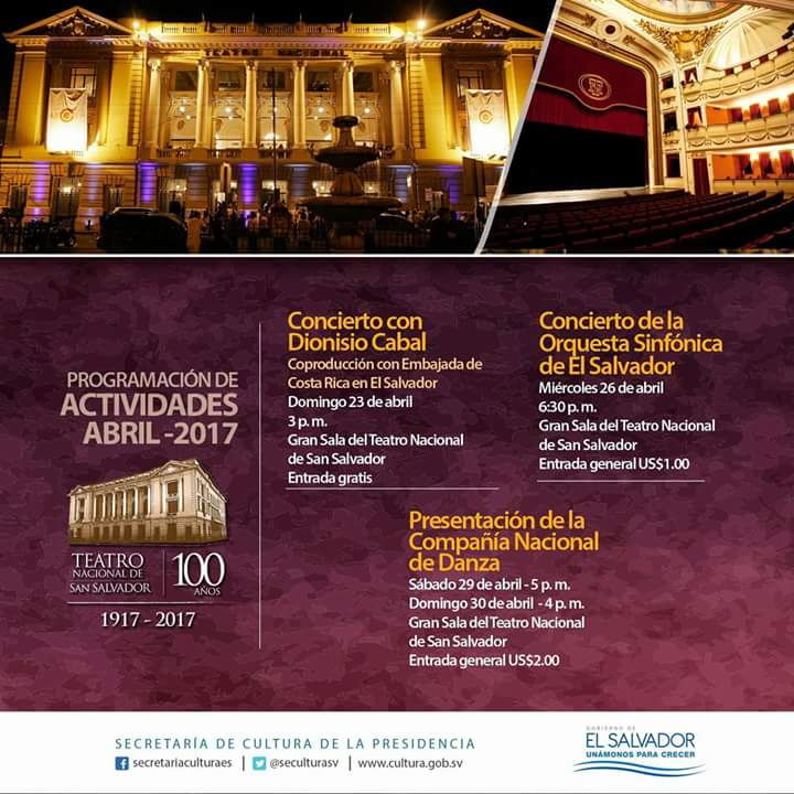 agenda teatro nacional