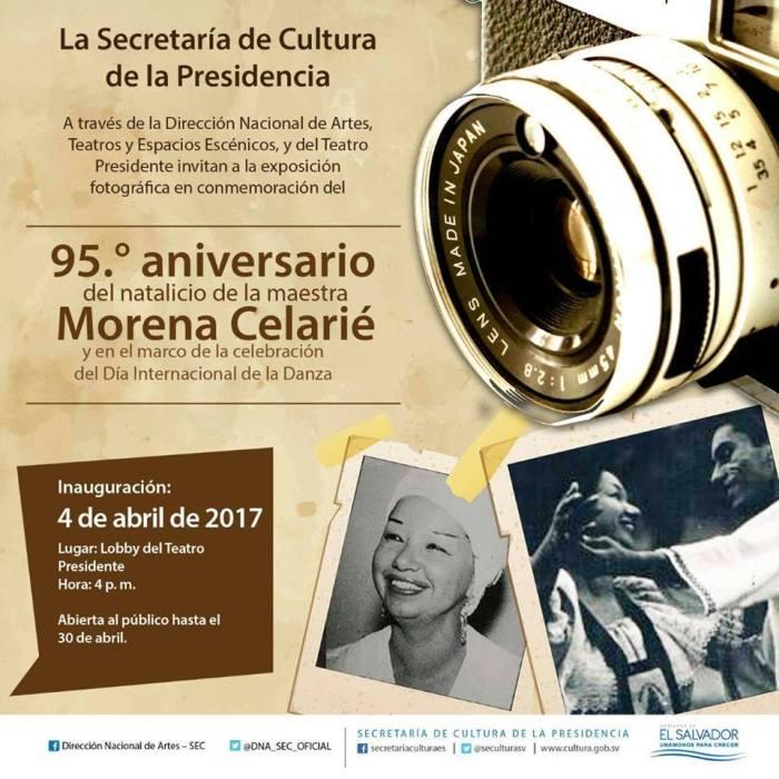 aniversario del natalicio de Morena Celarié