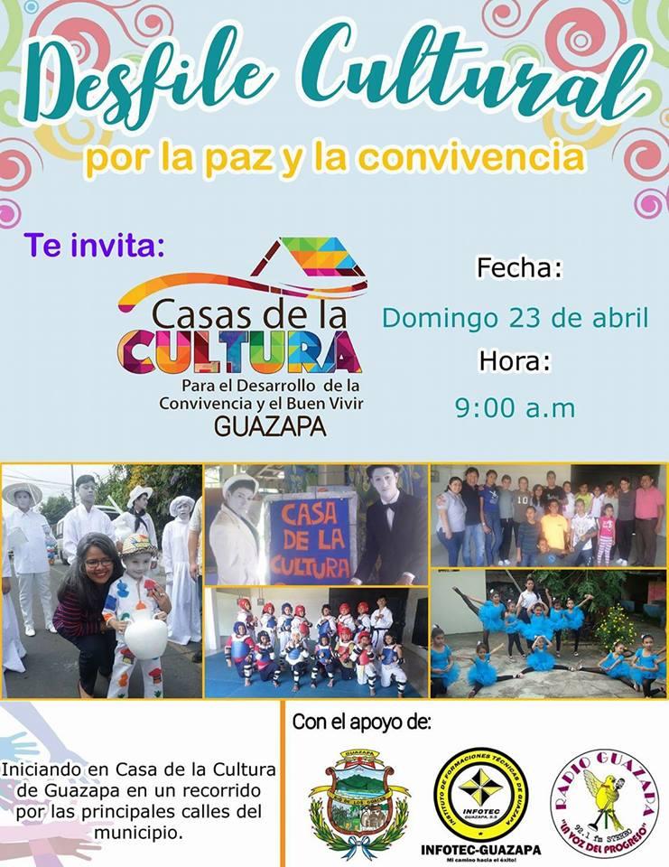 desfile cultural guazapa