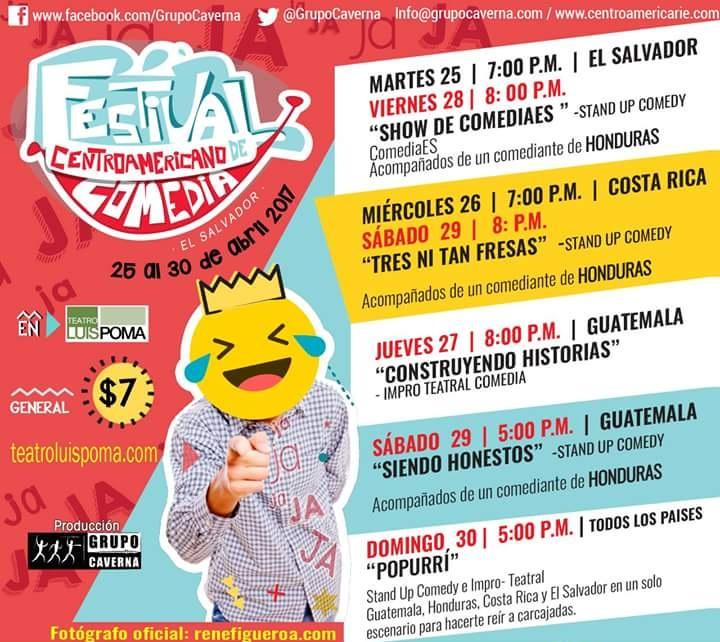 festival centroamericano de comedia