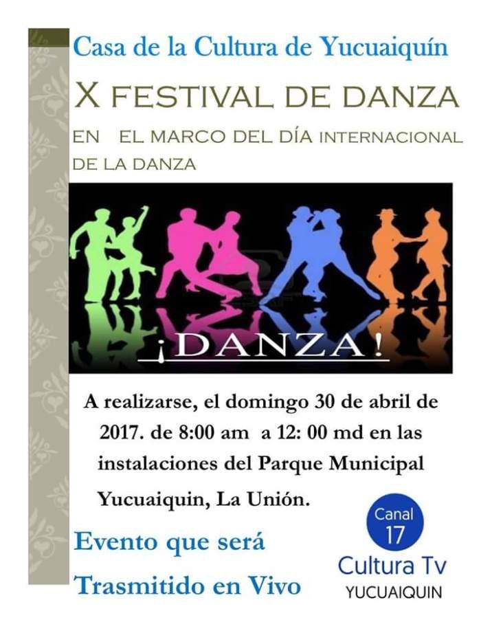 festival de la danza yucuaiquin