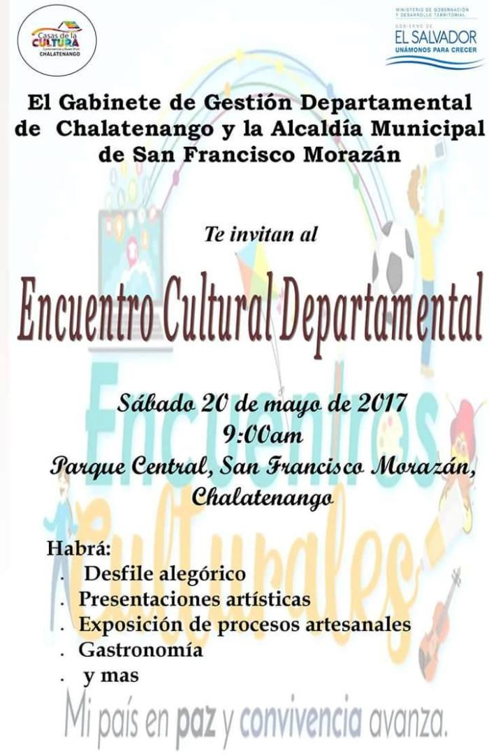 encuentro cultural chalatenango